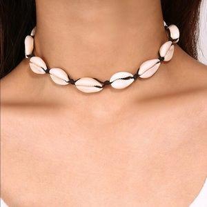 Sea Shell Choker Necklace
